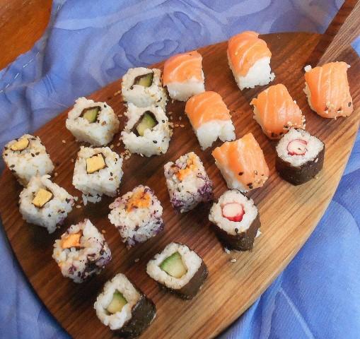 uit welk land komt sushi